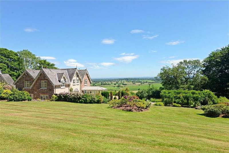 4 Bedrooms Detached House for sale in Goldford Lane, Bickerton, Malpas, Cheshire, SY14