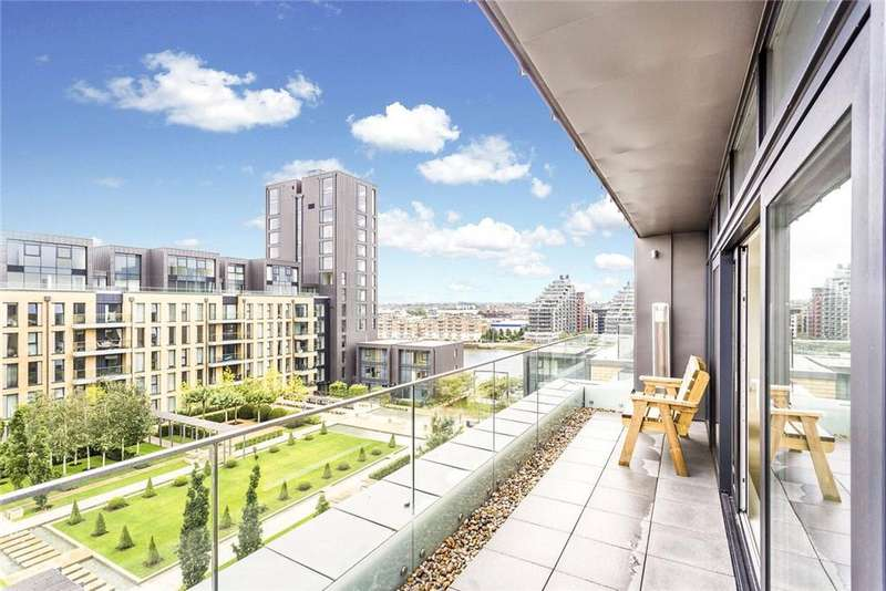 3 Bedrooms Flat for sale in 5 Central Avenue, Fulham Riverside, London, SW6