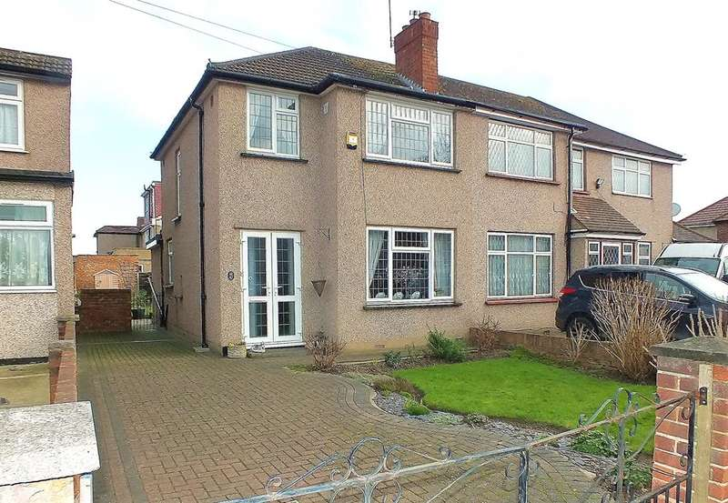 3 Bedrooms End Of Terrace House for sale in Mildred Avenue, Hayes, UB3 1TW