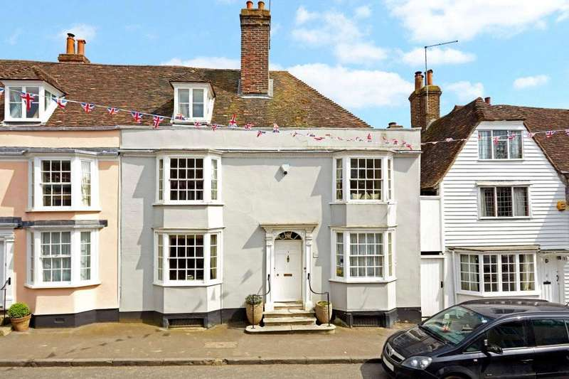4 Bedrooms Terraced House for sale in High Street, Charing, Ashford, Kent, TN27