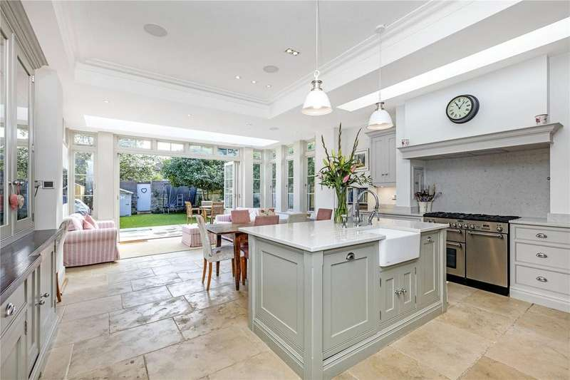 5 Bedrooms Semi Detached House for sale in Grange Road, Barnes, London, SW13