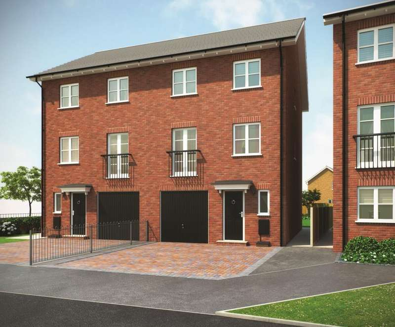 4 Bedrooms Semi Detached House for sale in THE WALDEN PHASE 1, Navigation Point, Cinder Lane, Castleford, West Yorkshire