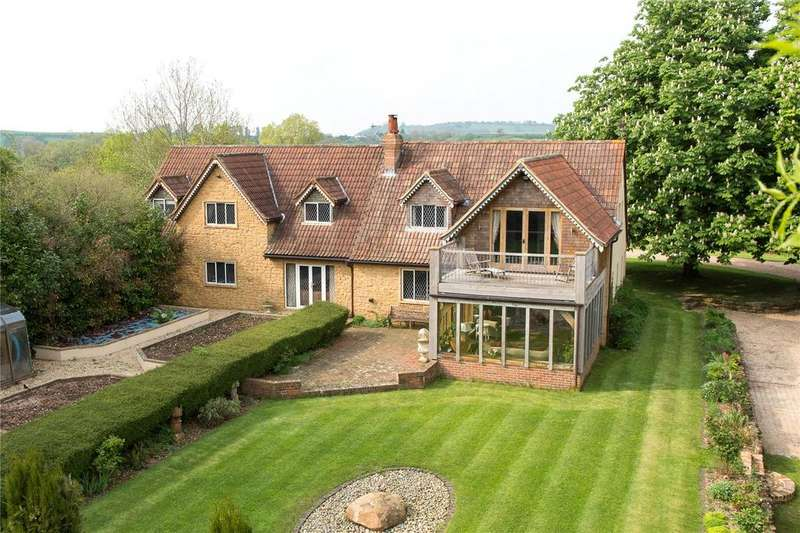 4 Bedrooms Detached House for sale in Haselbury Plucknett, Haselbury Plucknett, Crewkerne, Somerset, TA18