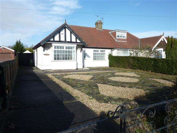 2 Bedrooms Semi Detached Bungalow for sale in LITTLECOATES ROAD, GRIMSBY