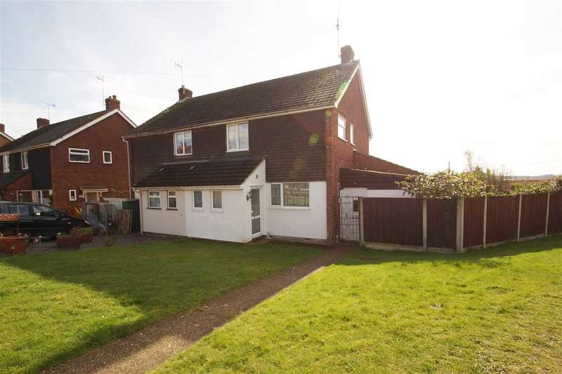 4 Bedrooms Semi Detached House for sale in Valley Crescent, West Bergholt, Colchester