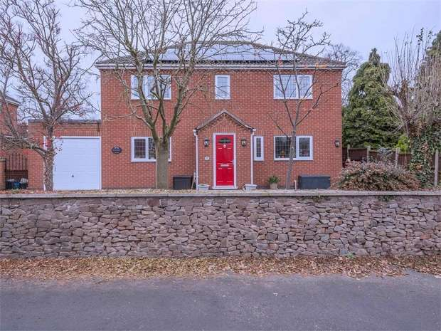 4 Bedrooms Detached House for sale in Highfield Street, Stoney Stanton, Leicester