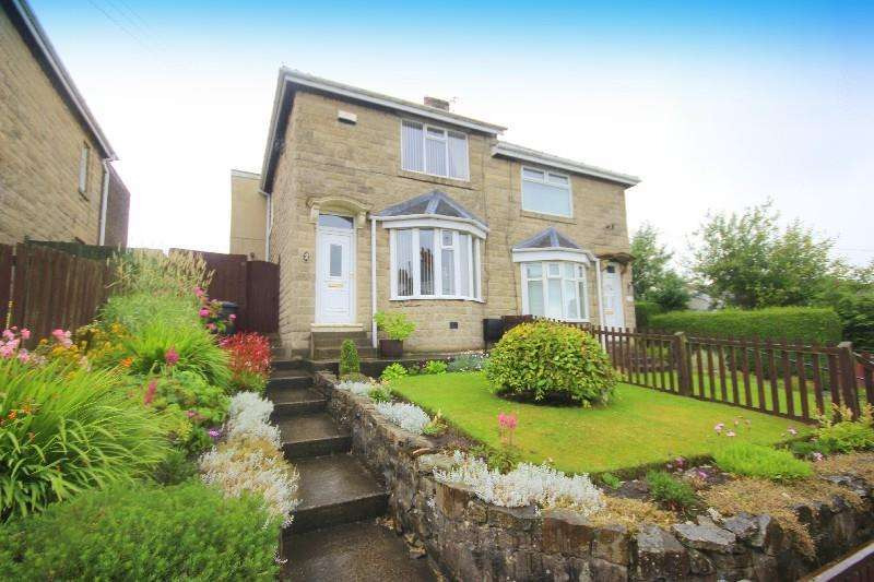 2 Bedrooms Semi Detached House for sale in Craigland Villas Sacriston, Durham