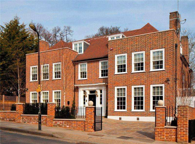 7 Bedrooms Detached House for rent in Frognal, Hampstead, London, NW3