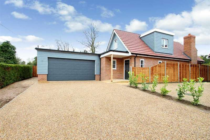 3 Bedrooms Chalet House for sale in Huckleberry, Byng Hall Road, Ufford, Woodbridge
