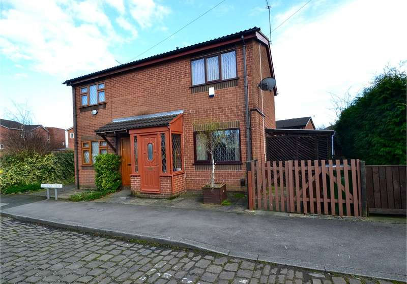 2 Bedrooms Semi Detached House for sale in Grosvenor Street, Hazel Grove, Stockport SK7 4AU