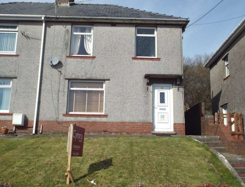 3 Bedrooms Semi Detached House for sale in Maes Y Felin, Pontyberem