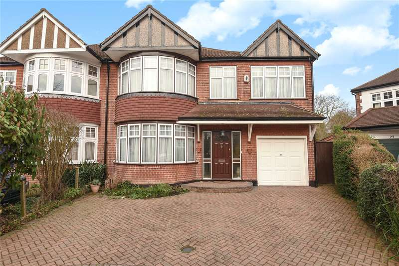 4 Bedrooms Semi Detached House for sale in Croft Gardens, Ruislip, Middlesex, HA4