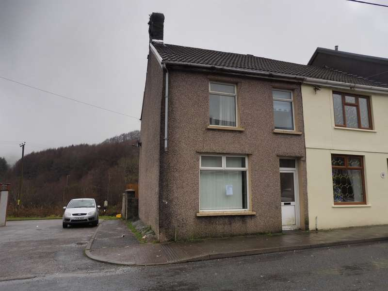 3 Bedrooms End Of Terrace House for sale in Dinam Street, Nantymoel, Bridgend
