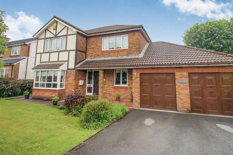 4 Bedrooms Detached House for sale in Parc Y Llan, Llandybie, Ammanford