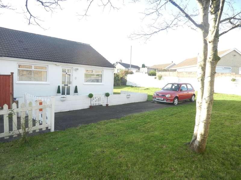 2 Bedrooms Semi Detached Bungalow for sale in Mynydd Garnllwyd Road, Morriston, Swansea