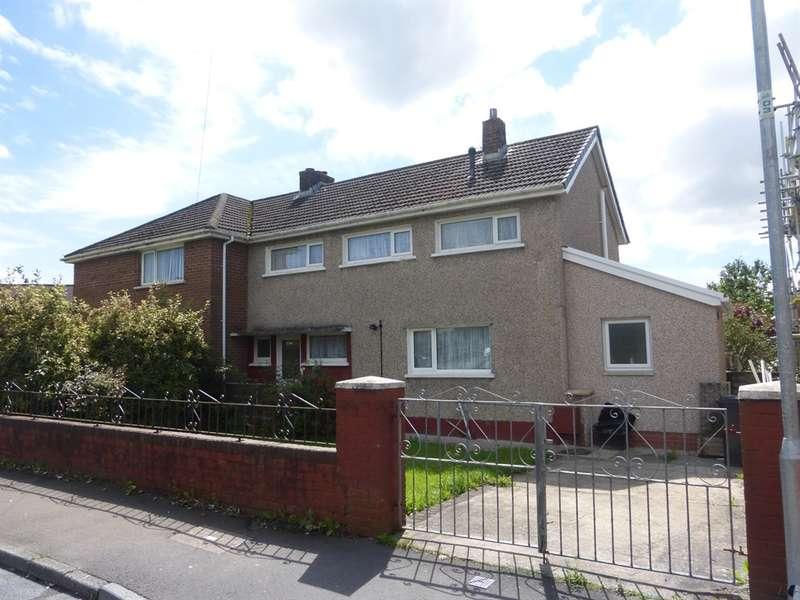 3 Bedrooms Semi Detached House for sale in Heol Llwynon, Neath