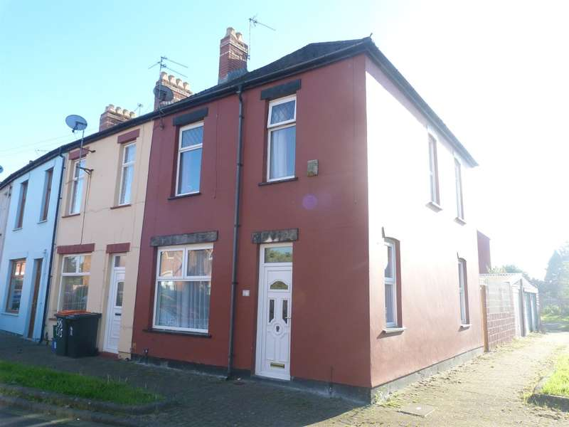 3 Bedrooms End Of Terrace House for sale in Liscombe Street, Newport