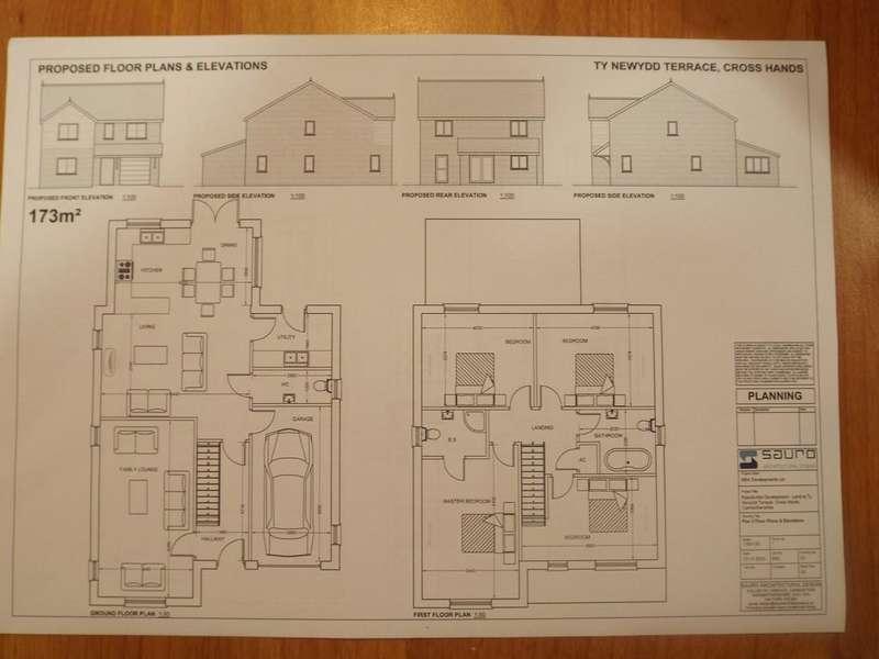 4 Bedrooms Detached House for sale in Tynewydd Terrace, Cross Hands