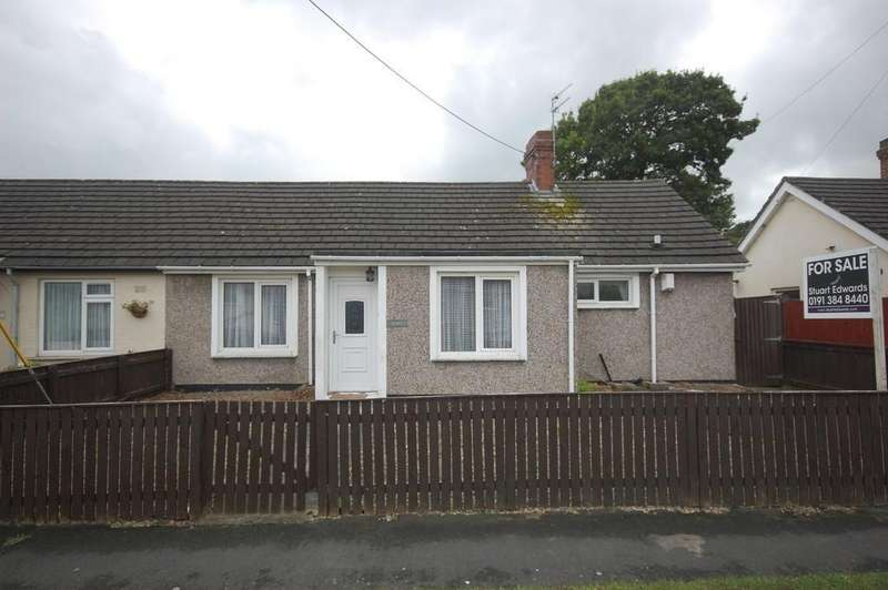 3 Bedrooms Semi Detached Bungalow for sale in Newhouse Avenue, Esh Winning