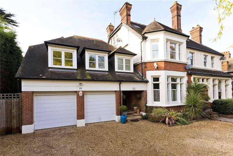 6 Bedrooms Semi Detached House for sale in Albany Crescent, Claygate, Esher, Surrey, KT10