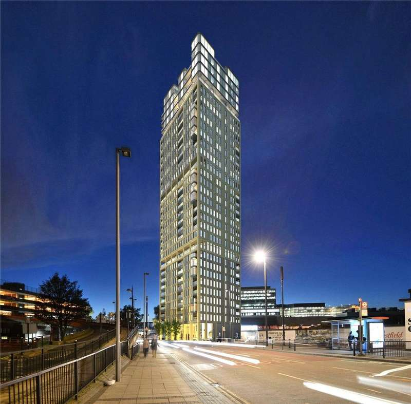 1 Bedroom Flat for sale in Stratford Central, Stratford City, London, E15