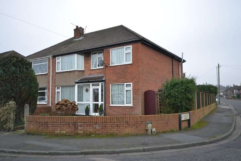4 Bedrooms Semi Detached House for sale in Nicholl Road, Eccleston, St. Helens