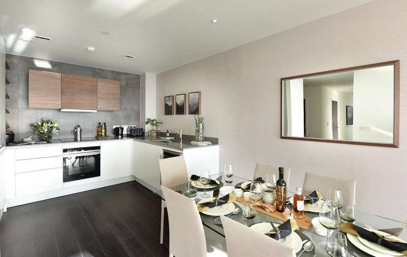 2 Bedrooms Flat for sale in Woodberry Down, Finsbury Park, London, N4
