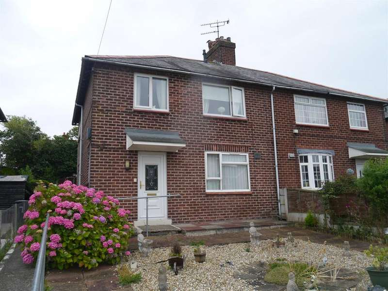 3 Bedrooms Semi Detached House for sale in Penygraig, Brymbo, Wrexham LL11 5AE