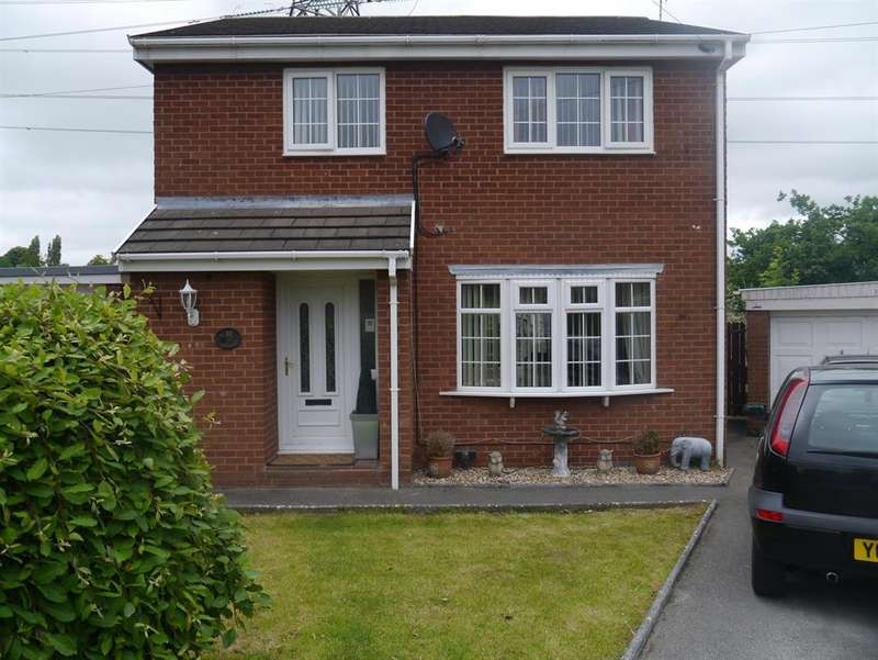 3 Bedrooms Detached House for sale in Delyn, Nant Parc, Johnstown, LL14 1UY