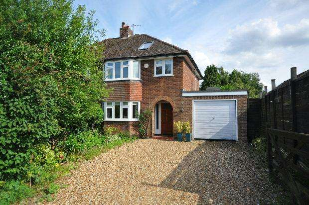 4 Bedrooms Semi Detached House for sale in Glendevon Road, Woodley, Reading,