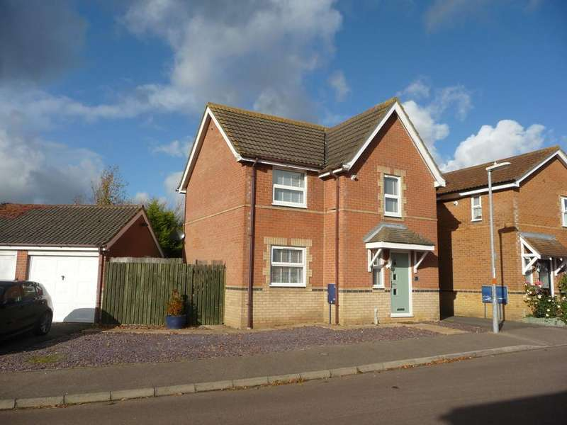 3 Bedrooms Detached House for sale in Brasenose Drive, Brackley