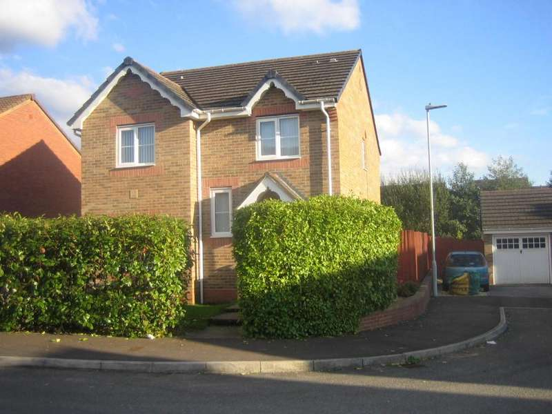 4 Bedrooms Detached House for sale in Ffwrn Clai, Pontarddulais