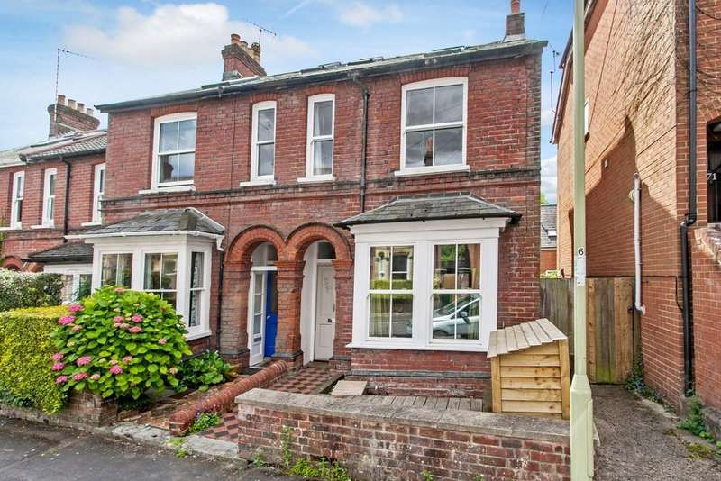 4 Bedrooms End Of Terrace House for sale in Fairfield Road, Winchester, SO22