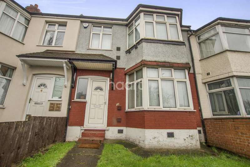 3 Bedrooms Terraced House for sale in Waverley Gardens, NW10