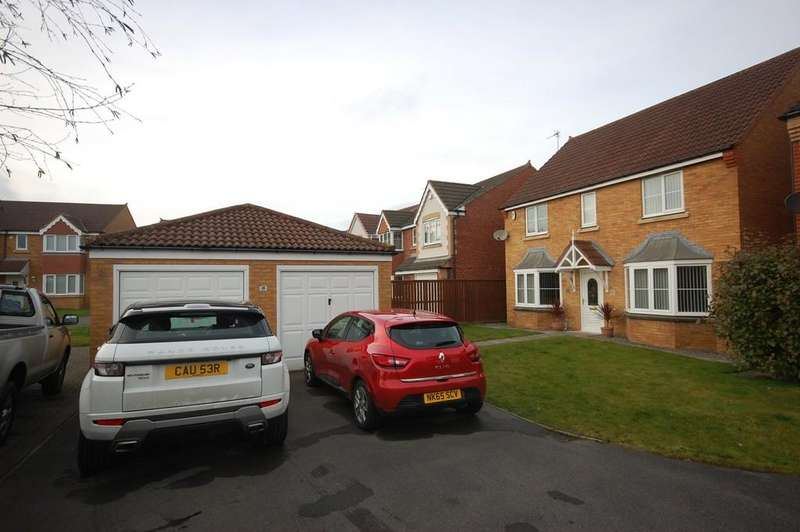 4 Bedrooms Detached House for sale in Dunscar, Houghton Le Spring