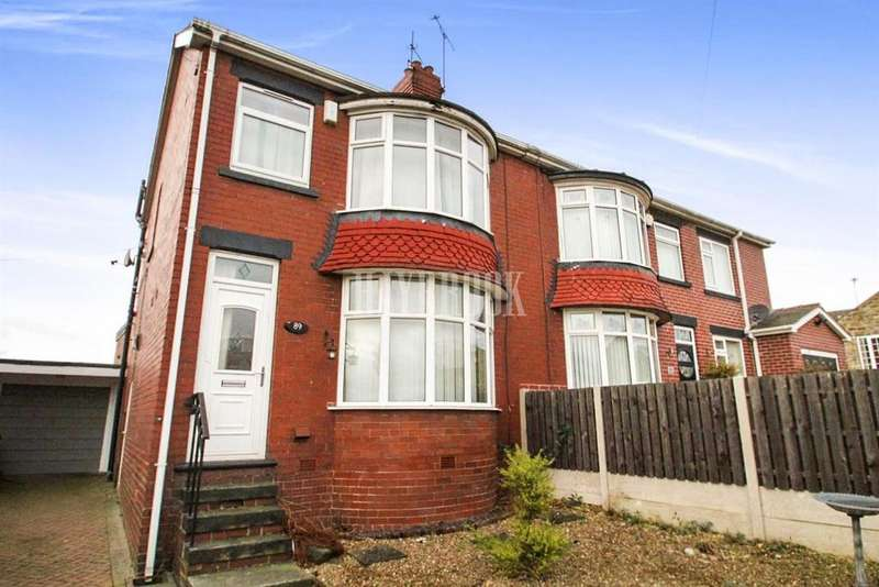 3 Bedrooms Semi Detached House for sale in Vernon Road, Worsbrough