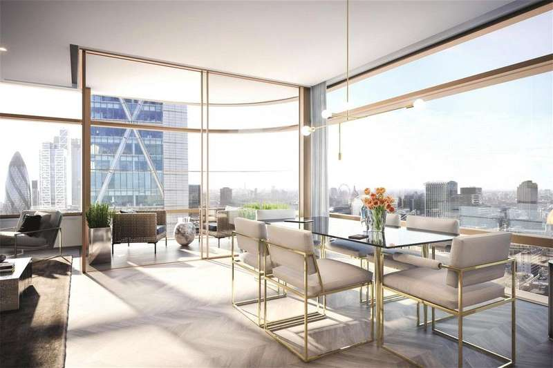 3 Bedrooms Penthouse Flat for sale in Principal Tower, Shoreditch Highstreet, London, EC2M