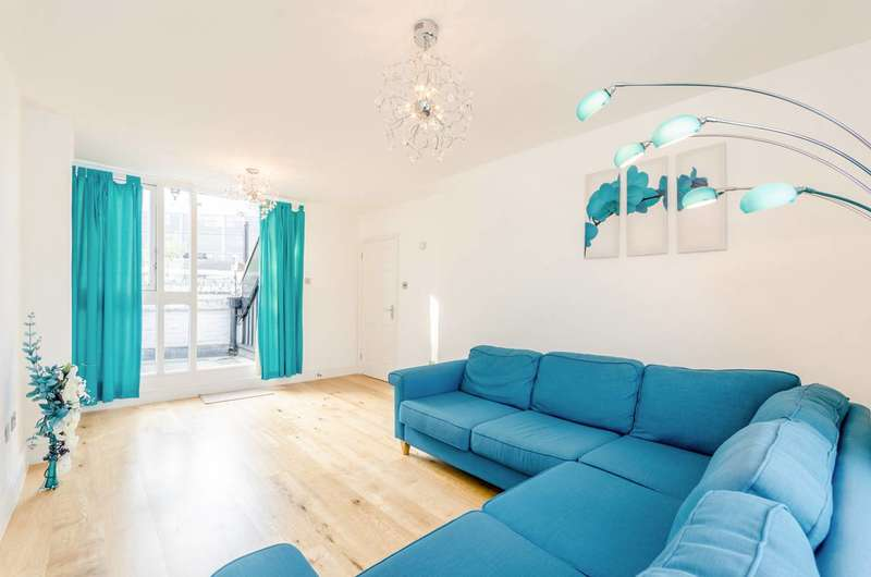 3 Bedrooms Flat for sale in North Gower Street, Euston, NW1