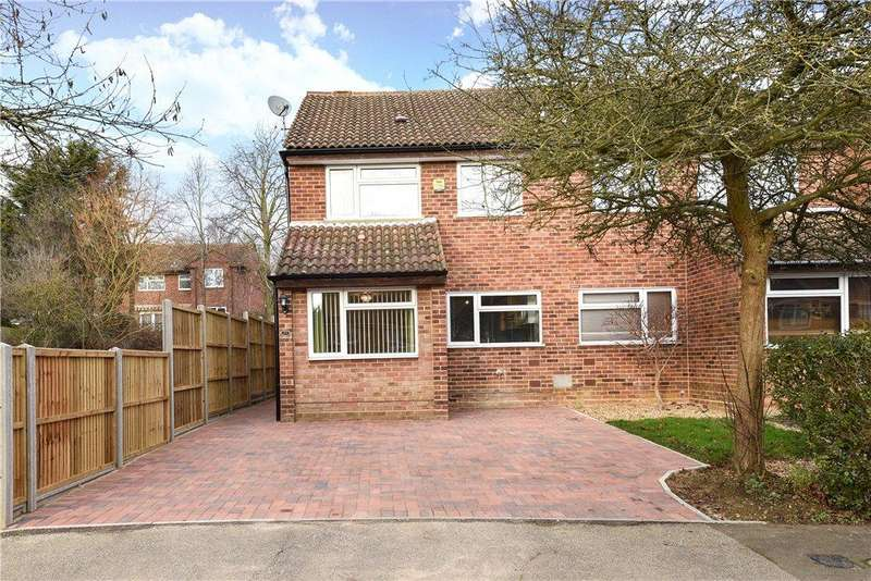 3 Bedrooms Semi Detached House for sale in Wallingford, Bradville, Milton Keynes, Buckinghamshire