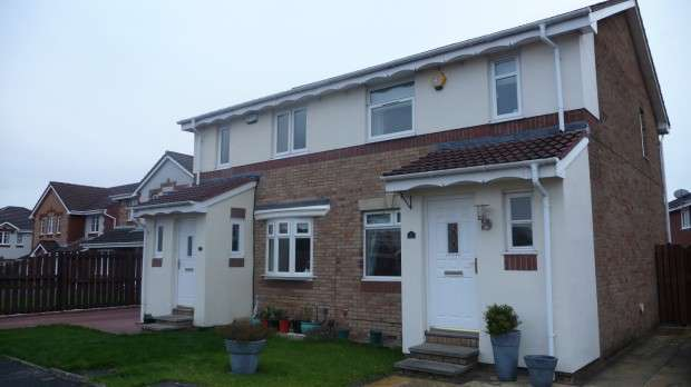 3 Bedrooms Semi Detached House for sale in Oban Way, Carfin, Motherwell, ML1
