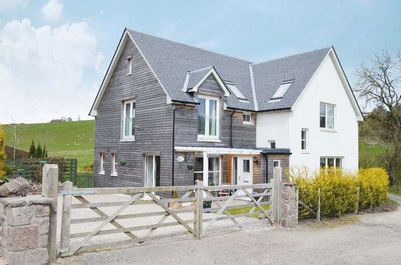 4 Bedrooms Detached House for sale in Easter Borland Farm, Thornhill, Stirling, FK8 3QJ