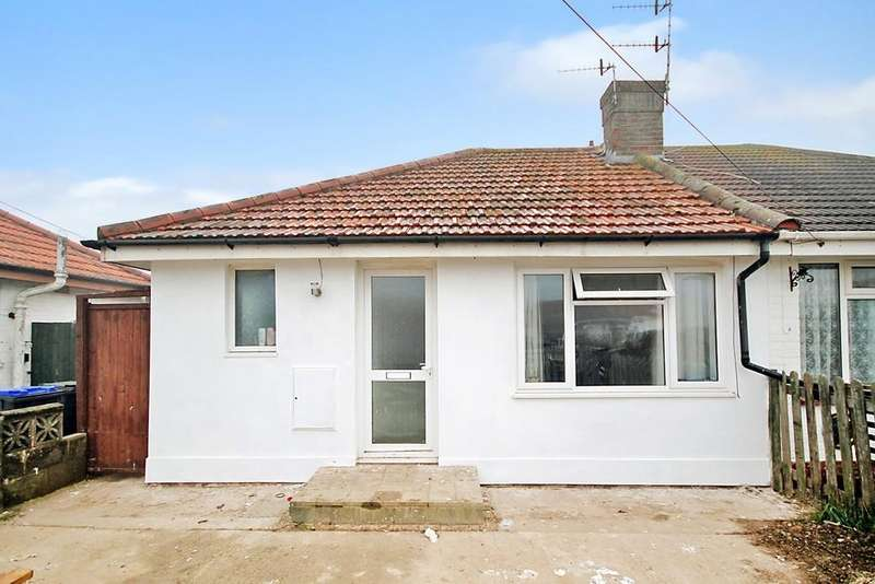 2 Bedrooms Semi Detached Bungalow for sale in West Way, Lancing, BN15