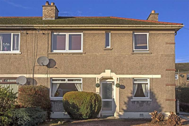 2 Bedrooms Flat for sale in 41 Balvaird Place, Perth, PH1
