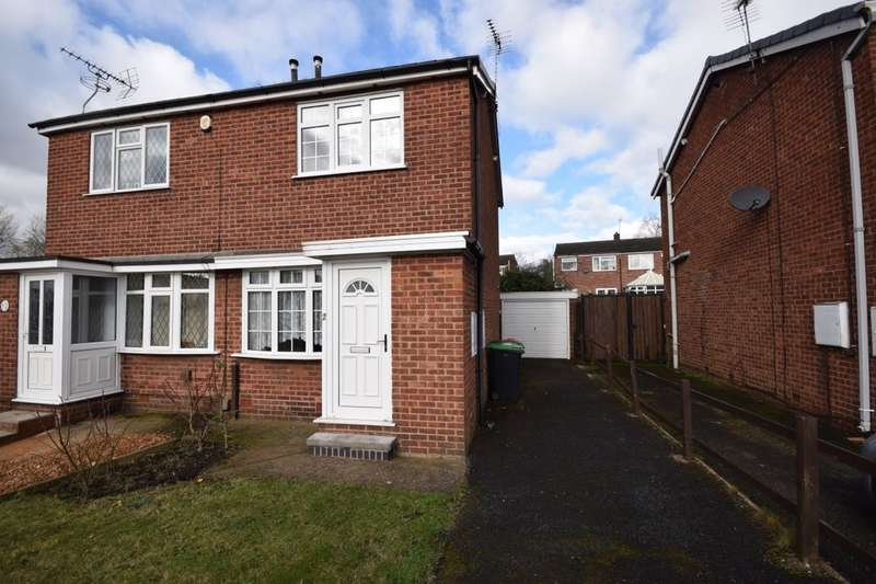 2 Bedrooms Semi Detached House for sale in Kenilworth Avenue, Sutton-In-Ashfield, NG17