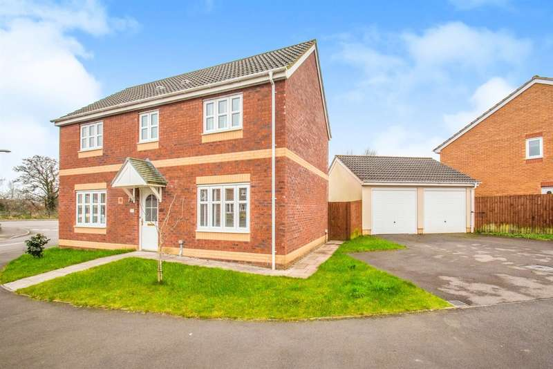4 Bedrooms Detached House for sale in Meadow Drive, Tyla Garw, Pontyclun