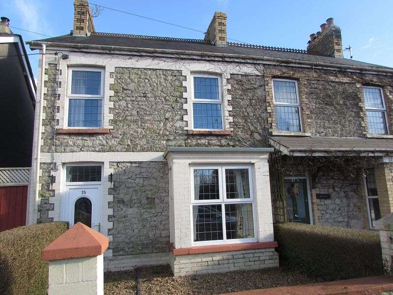 3 Bedrooms Semi Detached House for sale in Coychurch Road, Pencoed, Bridgend. CF35 5LY