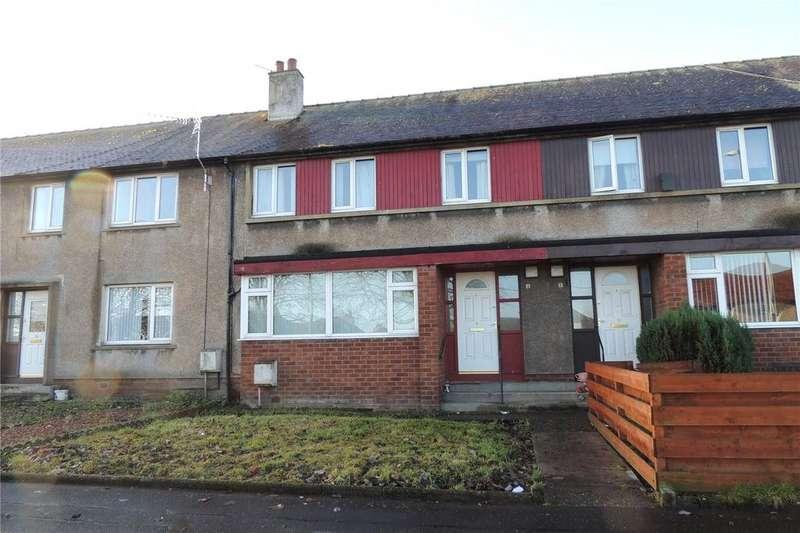 3 Bedrooms Terraced House for sale in 9 Kirkbride Terrace, Plean, Stirling, FK7