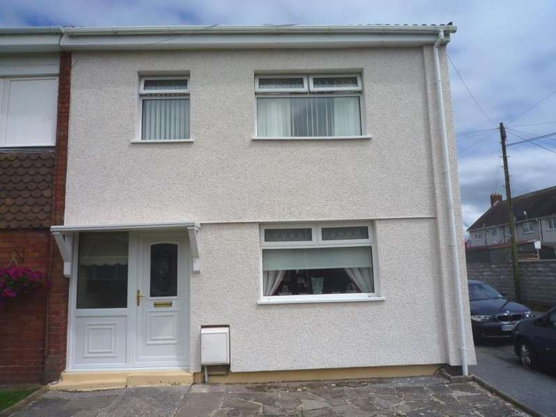 3 Bedrooms Semi Detached House for sale in 71 Biddulph Estate, Llanelli, Carmarthenshire
