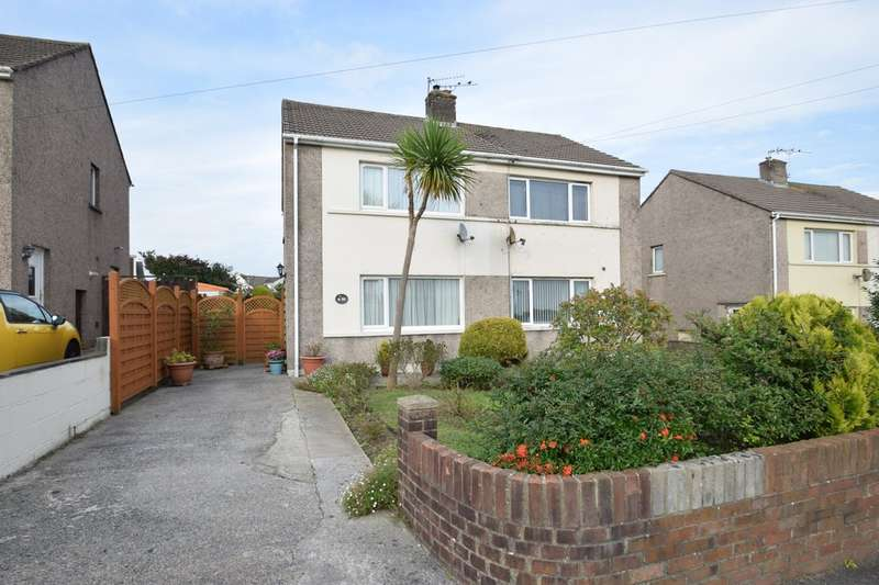 2 Bedrooms Semi Detached House for sale in 130 Llangewydd Road, Cefn Glas, Bridgend, Bridgend County Borough, CF31 4JX.