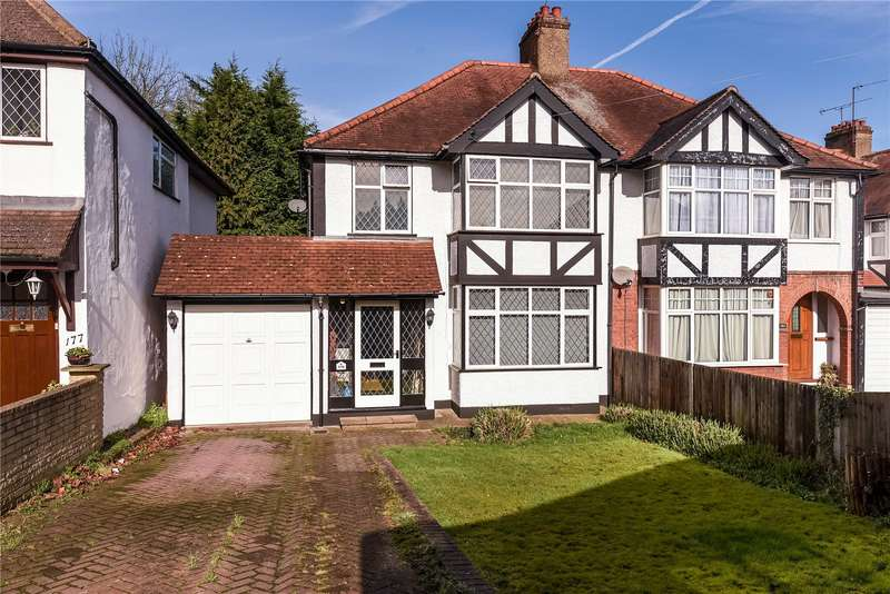 3 Bedrooms Semi Detached House for sale in Eastcote Road, Ruislip, Middlesex, HA4